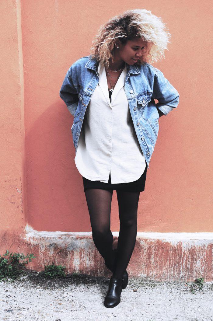 Comment bien s'habiller : automne, chemise, franges