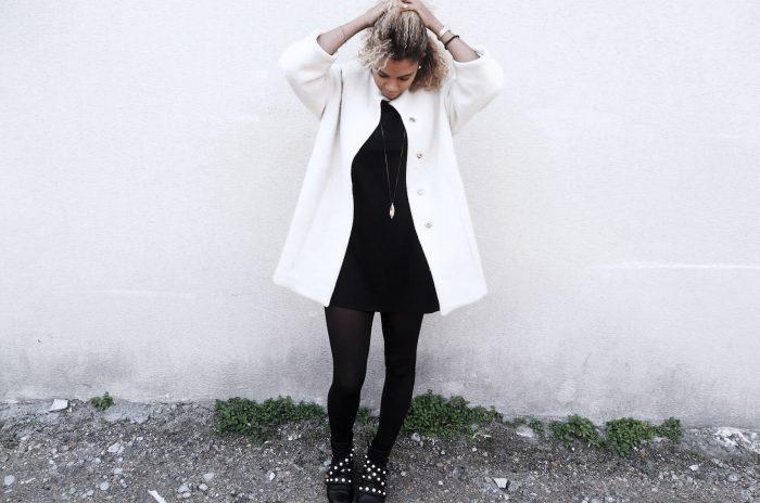 Blog look femme : s'habiller en automne, bottines perles