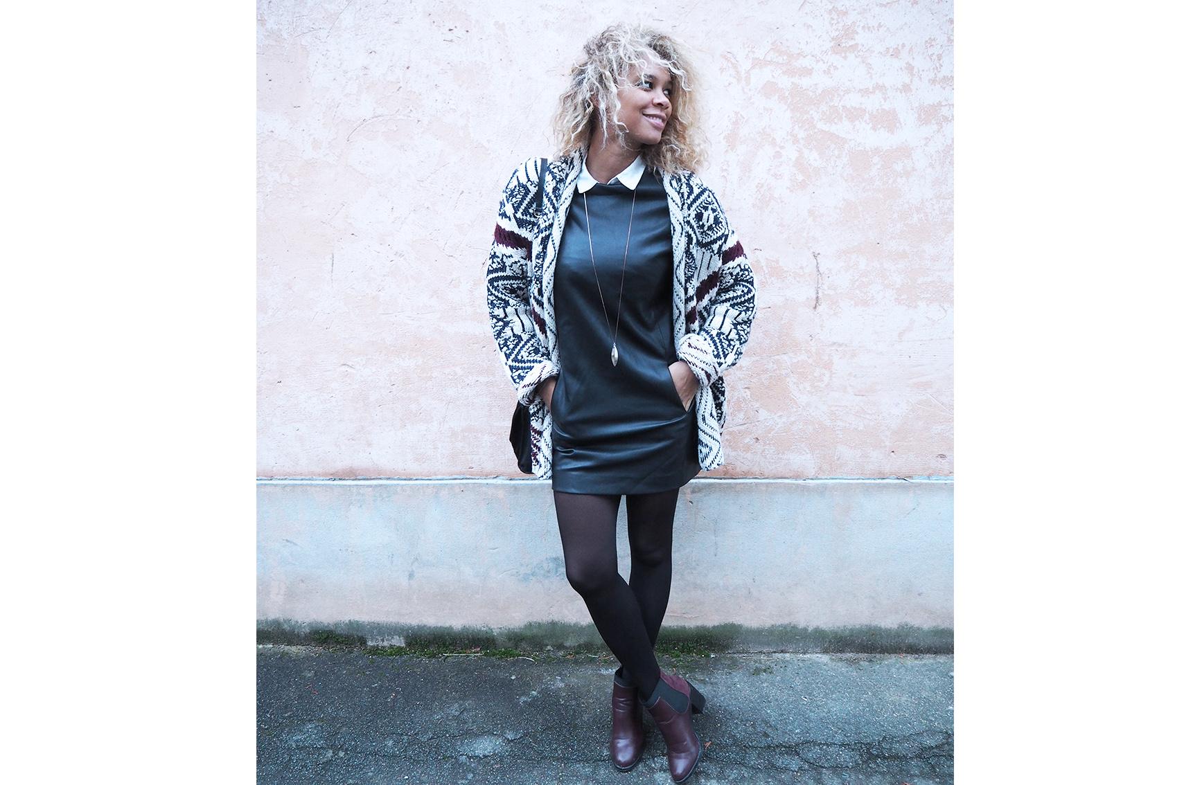 Bottines bordeaux : comment s'habiller demain, look d'hiver