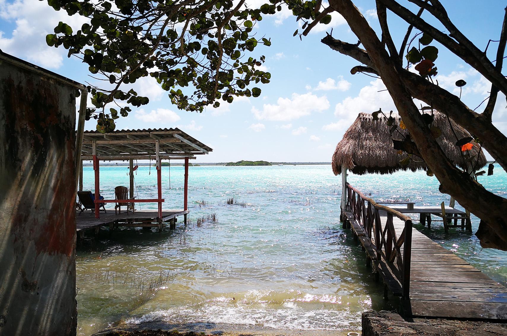 Blog voyage Mexique : Laguna de Bacalar