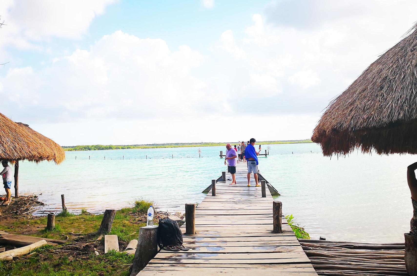 Blog voyage mexique : laguna de kaan luum