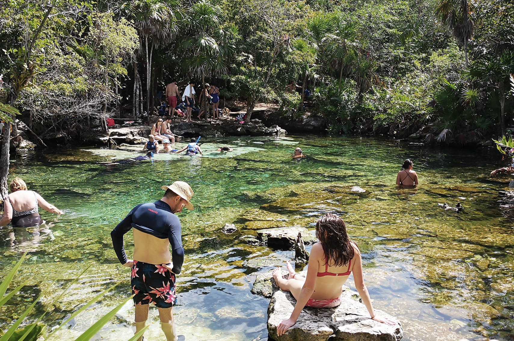 Voyage au Mexique conseils : cenote azul, tulum