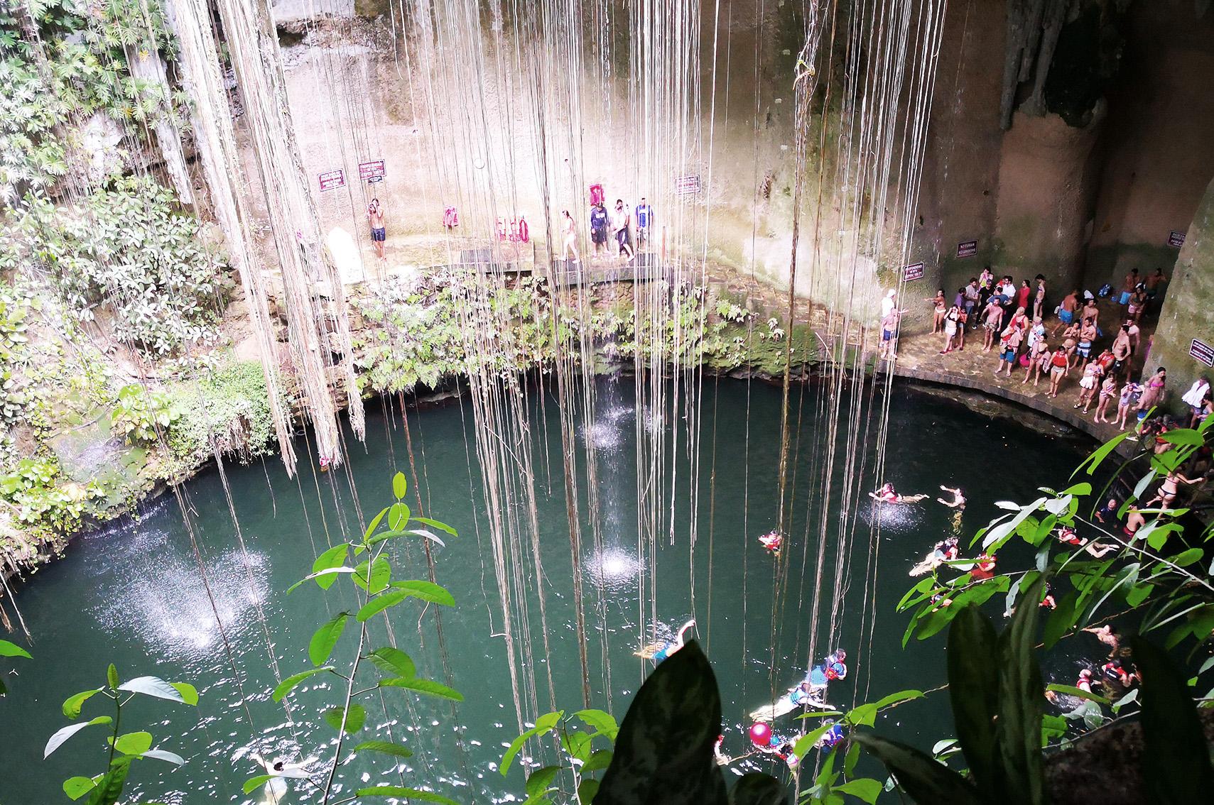 Voyage au Mexique conseils : cenote Ik Kil