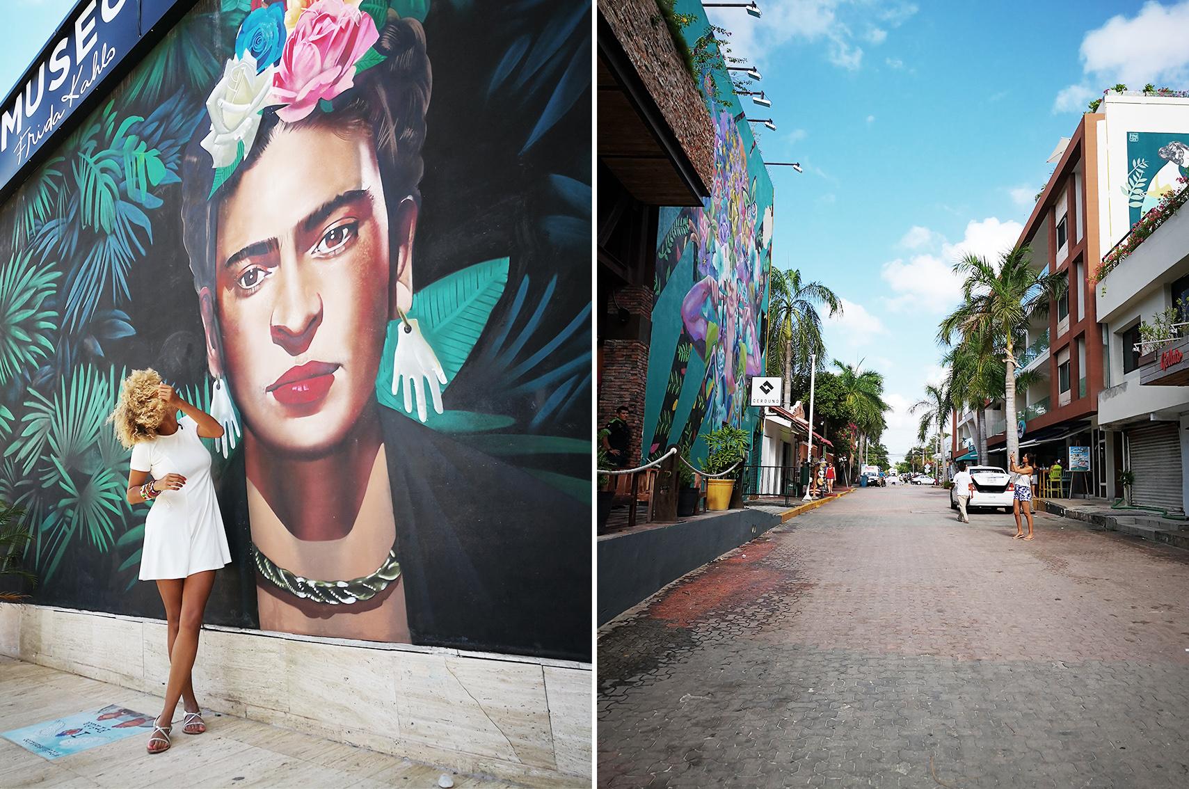 Quand partir Mexique : Playa del carmen, Frida kahlo
