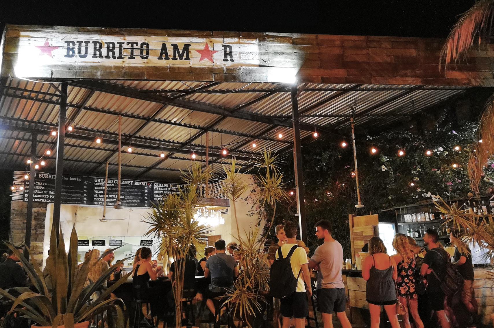 Que faire à Tulum : Burrito amor