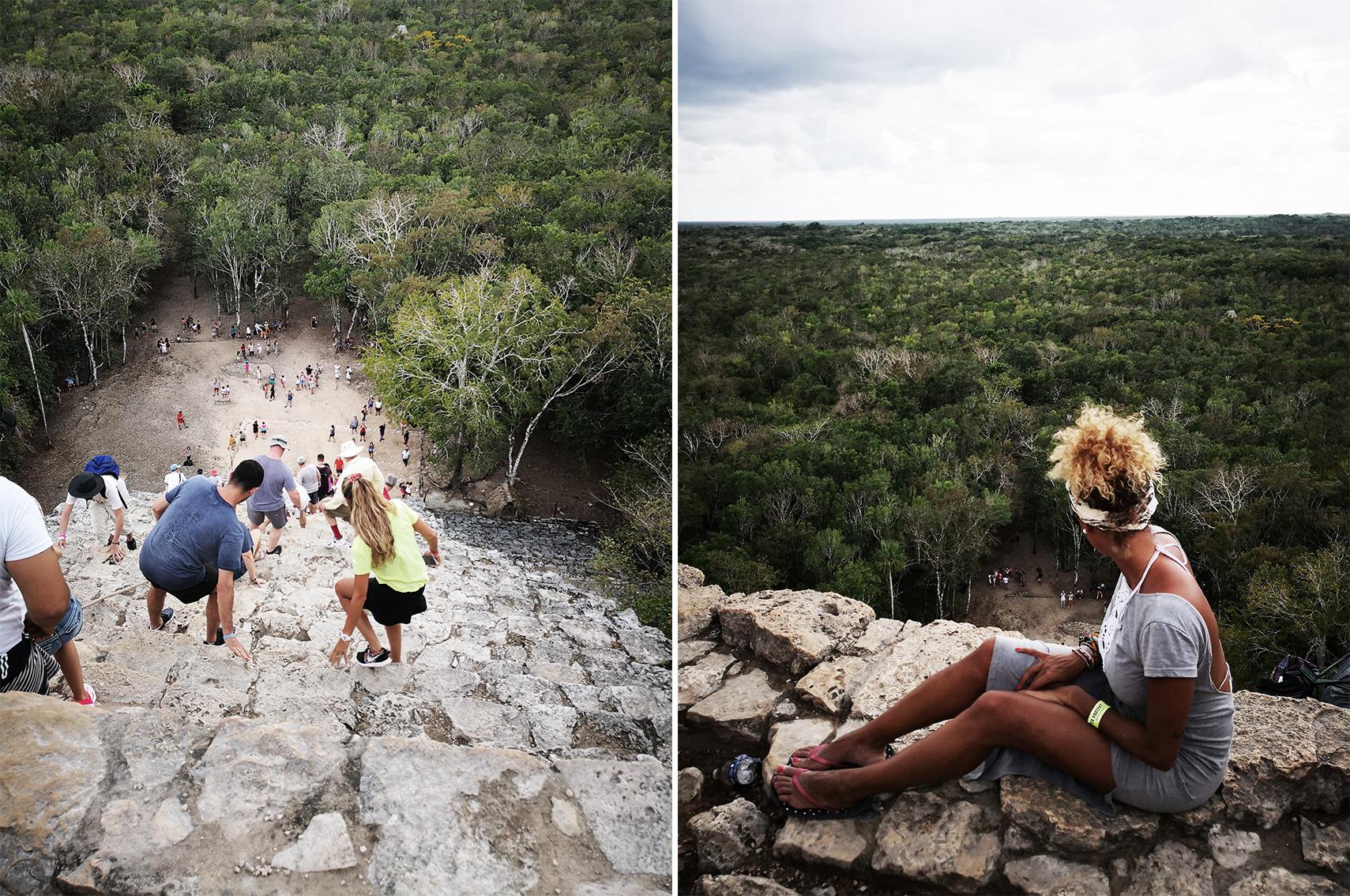Quand partir Mexique, blog voyage Mexique : Ruines de Coba