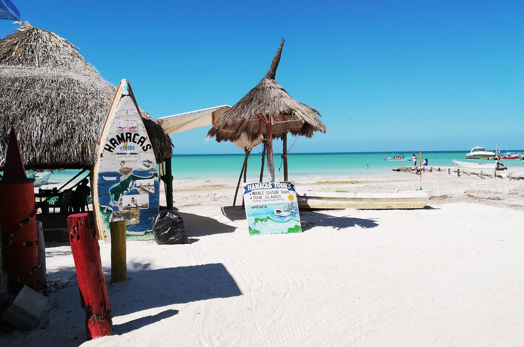 Ou aller au Mexique : isla de Holbox